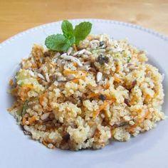 Receita de Salada de quinoa com abobrinha