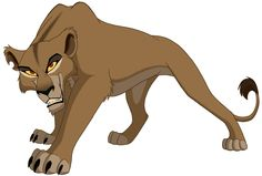 "Zira from ""The Lion King II: Simba's Pride"""
