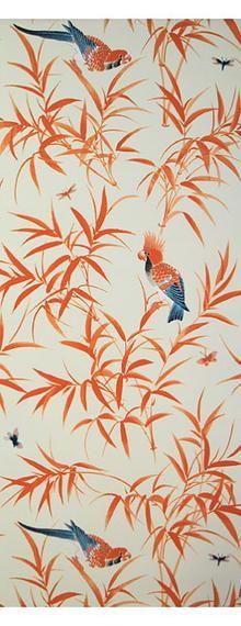 designer fabrics, wallpapers, cotton, silk, cream, brown
