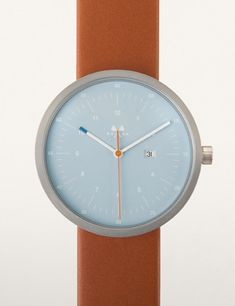 Alma, Part of the HMS-Date Series By Mona Watches.