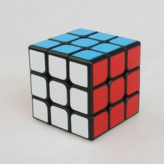3x3x3 PVC Sticker Block Puzzle Speed Magic Cube