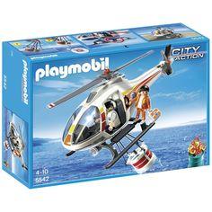 Hélicoptère bombardier d'eau Playmobil 5542