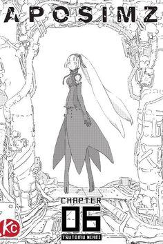 Vertical Comics Picks Up Tsutomu Nihei's APOSIMZ Manga by Mike Ferreira