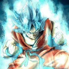 Goku en una de sus mejores formas. PRECIOSO