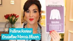 Pattern Review - Grainline Studio Morris Blazer   Vlog