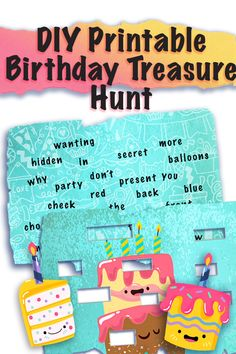 Kids Treasure Hunt Clues, Treasure Hunt Games, Birthday Presents For Girls, Presents For Best Friends, Diy Presents, Scavenger Hunt Birthday, Scavenger Hunt For Kids, Baby Boy Birthday, Birthday Games