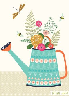 Bethan Janine // Watering can
