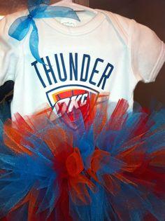 Sparkle Thunder Baby Onesie TuTu. $39.00, via Etsy.