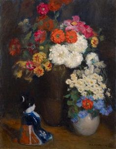 Marguerite Stuber Pearson Still Life, 1920s (Oil on canvas, 28 1/4 x 22 1/4 inches) Spanierman Gallery, NYC