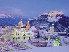 Winter in Salzburg   My favorite city in Austria!