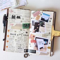 Week 14.  #midoritravelersnotebook #travelersnote #travelersnotebook #scrapbooking #planner #organizer #agenda #journal #journaling #washi #washitape #maskingtape #mttape #stationery #文具 #文房具 #手帳 #紙膠帶 #日記 #手帳好朋友