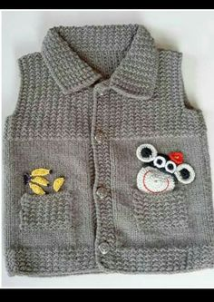 boys vest with ribbing detail - PIPicStats