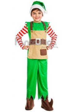 disfraz de elfo navideo para nio ideal para navidad nochebuena nochevieja cabalgatas