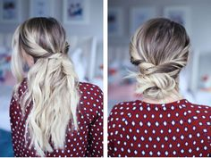 With just a few braids, loops, or bobby pins there are some seriously quick and easy hairstyles on Pinterest that will turn heads.