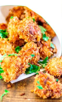 Chipotle Popcorn Chicken Recipe ~ This chicken is amazing.