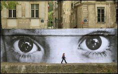 Great Urban Art via: Street Art Utopia -  Somebody's watching me