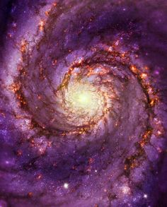 Would love to soak myself in that! --Pia (The Whirlpool galaxy)
