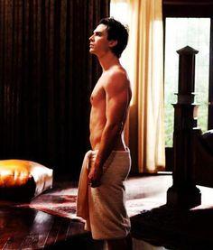 Ian Somerhalder as Damon Salvatore in The Vampire Diaries.