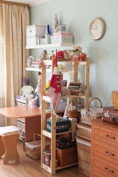 Моя творческая домашняя мини-мастерская :) А какая у вас? - Ярмарка Мастеров - ручная работа, handmade