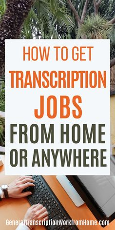 How you can get transcription jobs from home or from anywhere. You can do transcription work anywhere where you have an Internet connection. Make money transcribing and earn up to $50,000/year without a degree. Hobbies That Make Money, Earn More Money, Make Money From Home, Way To Make Money, Make Money Online, Typing Jobs From Home, Online Typing Jobs, Online Jobs, Transcription Jobs From Home