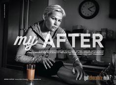Photograph by Danny Clinch  #Ad #Campaign #ChocolateMilk #Runner #Portrait #Gotmilk? #Art #DannyClinch