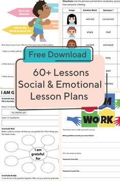 Social Emotional Learning Lessons Social Emotional Learning Lessons,Lesson Plans and Instructional Strategies Help kids learn key social and emotional skills with this collection of lesson plans. Related posts:Teaching Character Through. Social Emotional Activities, Social Skills Lessons, Social Skills For Kids, Social Skills Activities, Teaching Social Skills, Learning Skills, Kids Coping Skills, Teaching Emotions, Articulation Activities