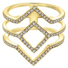 Gabriel & Company New York offers only the most meticulously crafted fashion jewelry pieces. Featuring a wide range of diamonds and metals. Fashion Rings, Fashion Jewelry, Gabriel Jewelry, Korean Jewelry, Right Hand Rings, Watch Necklace, Ring Earrings, White Gold Diamonds, Beautiful Rings