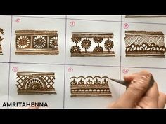 Learn Henna Mehndi Designs for Beginners - Kurti Blouse Pretty Henna Designs, Henna Tattoo Designs Simple, Peacock Mehndi Designs, Latest Henna Designs, Full Hand Mehndi Designs, Mehndi Designs For Beginners, Mehndi Design Pictures, Mehndi Designs For Fingers, Beautiful Mehndi Design