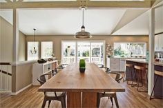 pictures of modern rustic kitchens   Rustic Modern - eclectic - kitchen - san diego - by Jackson Design ...