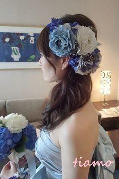 綺麗めナチュラルアップからサイドダウン♡美人花嫁さまの素敵な一日 の画像|大人可愛いブライダルヘアメイク『tiamo』の結婚カタログ Hair Arrange, Bow Sneakers, Yukata, Headdress, Wedding Hairstyles, Kimono, Make Up, Hair Styles, Cute