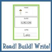 Read Build Write Mats! - Pinned by #PediaStaff.  Visit http://ht.ly/63sNt for all our pediatric therapy pins   We got this link from our friends at Literacy Speaks!  http://ht.ly/63IiO