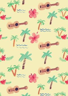 Ukulele ★ iPhone wallpaper