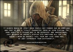 I think they didn't like him because he wasn't Ezio. People need to get over him.