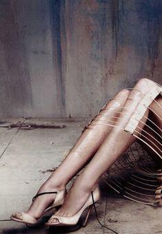 Trash Couture | Vogue Korea Karlie Kloss' legs by Rafael Stahelin