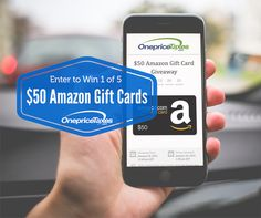 $50 Amazon Gift Card Giveaway http://giveaway.onepricetaxes.com/giveaways/amazon/?lucky=761 via @onepricetaxes #Win #Giveaway ends 1/31