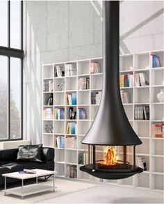 フードタイプ暖炉「ゼリア 908 センターモデル ガラス付き」