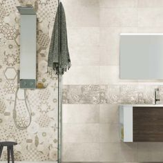 IMSO Ceramiche - Bibulca Available in Cluj-Napoca hausline. Hexagon Tiles, Mediterranean Homes, Bathroom Design Small, Beautiful Bathrooms, Bathroom Hooks, Home Furnishings, Bathtub, House, Toilets