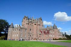 Glamis Castle in Scotland.  Childhood home of The Queen Mother