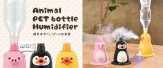 Ultrasonic pet bottle humidifier