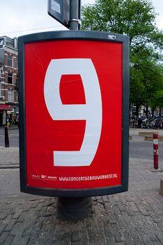 9, Concertgebouworkest typeface — René Knip