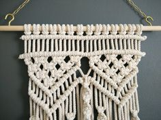 Kwast muur opknoping macramé Boheemse weven muur kunst vezel