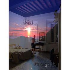 StudioAnna  -  Arnaud Sienna #AnnaCamerac #studioanna_paris #sunset #summer #man #photoshop #Nikon #d810 #art #portrait #sienna #italy
