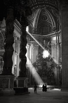 The Basilica of St. Peter, 1949 by David Seymour