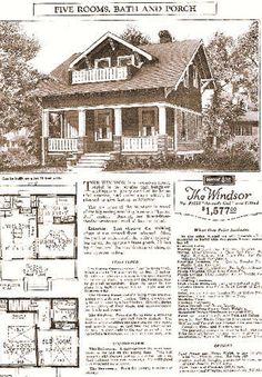 How to Identify a Sears Kit Home   Kit Homes  Home and Pictures
