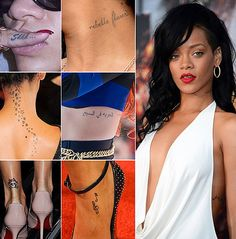 Tattoo Styles Why Rihanna's Tattoos