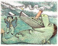Sea Monster   Vintage Kids' Books My Kid Loves