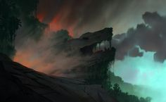 "theanimationarchive: "" Production Backgrounds for Road to El Dorado Artwork by Scott Wills. Source: Scott Wills "" Environment Concept Art, Environment Design, Lost City Of Gold, Animation Schools, Digital Painting Tutorials, Dreamworks Animation, Animation Background, Visual Development, Environmental Art"