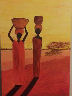 Afrikaanse waterdraagsters, gemaakt op 13 april 2016