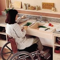 adapted kitchens for disabled - Google Search