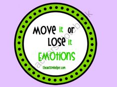 Move it or Lose it! Visual Emotion Cues from The Autism Helper on TeachersNotebook.com -  (14 pages)  - Children with autism or special needs sometimes struggle with understanding emotions. They benefit from using visual cues to practice the facial expressions associated with emotions. This helps social skill development, communication, and behavior.